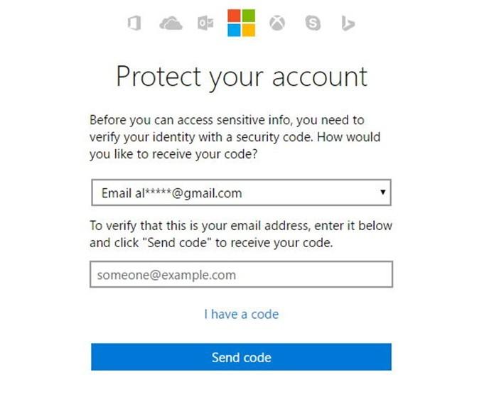 Enviando código de confirmação para seu email (Foto: Felipe Alencar/TechTudo)