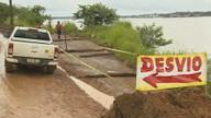 Defesa Civil interdita estrada que dá acesso ao Ramal Maravilha