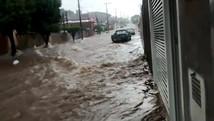Chuva forte deixa famílias desalojadas em Leme (Kate Blumer/Arquivo pessoal)