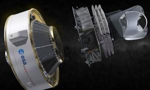 Satélite Planck, lançado no espaço em 2009 (Foto: ESABBC)