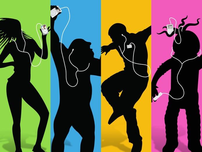 iPods revolucionaram o mundo da música nos anos 2000, mas vendas estão em baixa (Foto: Divulgação/Apple)