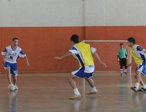 São José Futsal treina no ginásio do Vale do Sol (Foto: Quarttus)