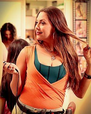 Fabiula Nascimento como Olenka em 'Avenida Brasil' (Foto: Divulgação/TV Globo)
