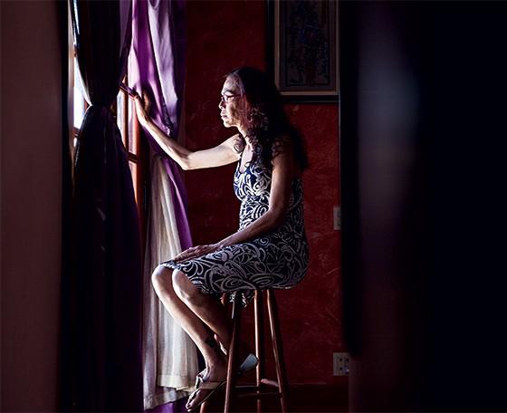 Mariah Agatha Lima em sua casa (Foto: Renata Campanelli/ÉPOCA)