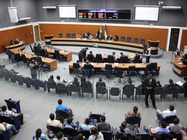 Comissão formada pela Assembleia tinha objetivo de fiscalizar apenas a reforma e a ampliação da Casa (Foto: Eduardo Andrade)