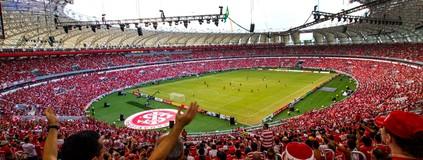Festa Gigante: tudo sobre a  reinauguração do Beira-Rio (Ricardo Fabrello/Futura Press)