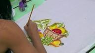 Projeto de pintura proporciona bem estar a mulheres com câncer em Santarém