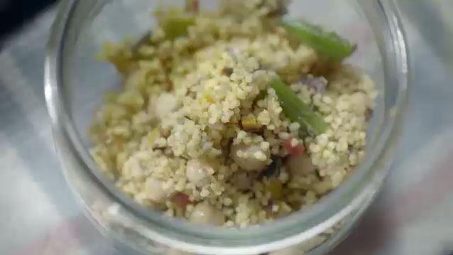 Cuscuz de legumes com curry (Foto: Reproduo)