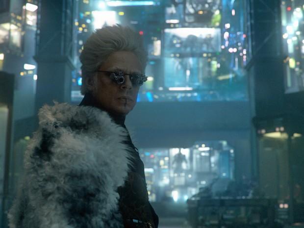 Benicio Del Toro interpreta um colecionador em 'Guardiões da Galáxia' (Foto: Divulgação)
