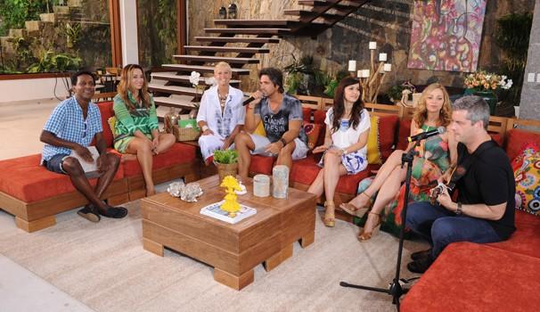 TV Xuxa (Foto: Blad Meneghel)