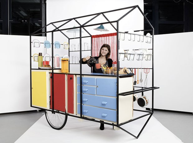 Pizza Truck With Exhibition Kitchen