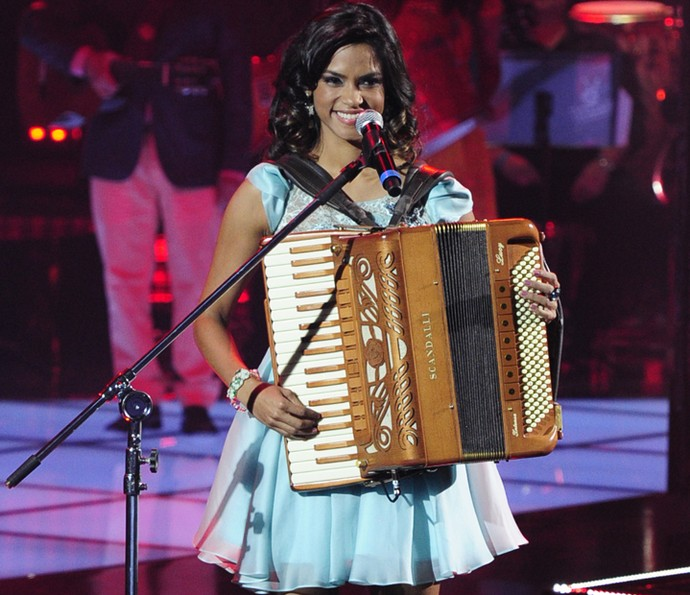 Lucy Alves foi finalista da segunda temporada de The Voice Brasil e estará em 'Velho Chico', a nova novela das 9 da Globo (Foto: Estevam Avellar/ Globo)
