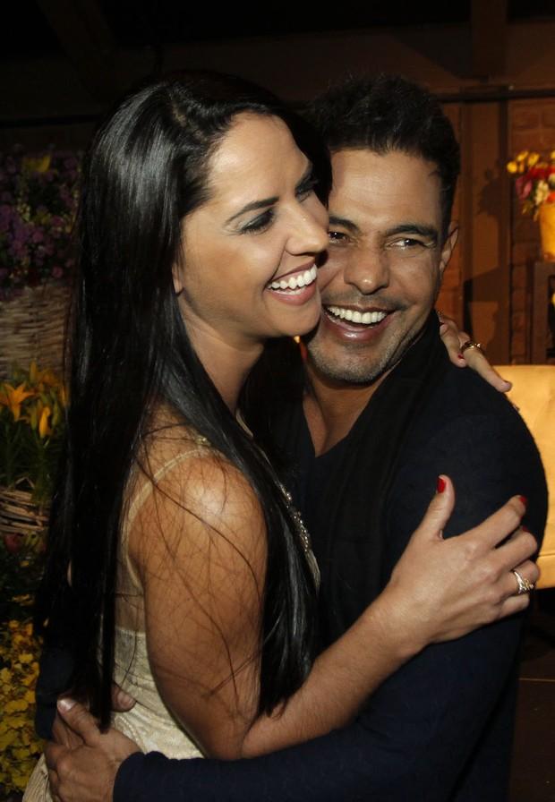 Zezé Di Camargo e Graciele Lacerda (Foto: Celso Tavares / EGO)