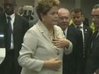 Dilma chega com ex-presidentes para homenagem a Mandela