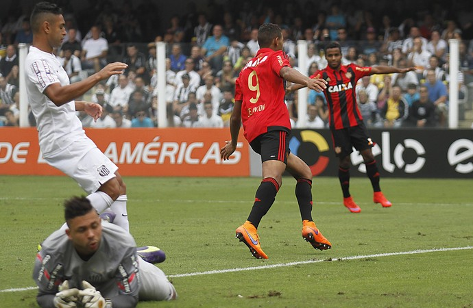 Joelinton Sport Santos (Foto: Lucas Baptista/Agencia Estado)