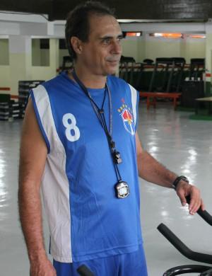 Pedro Peres, preparador do Fast (Foto: Alírio Lucas)