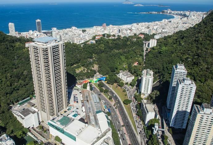 Decoração Olimpíada Rio 2016 cidade (Foto: Reanato Sette Câmara/Prefeitura do Rio)