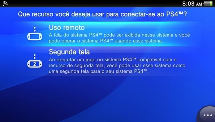 Selecione o Uso Remoto (Foto: Divulgação)