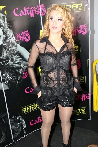 Joelma, cantora da banda Calipso (Foto: Ademir dos Anjos / EGO)