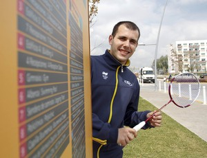 Daniel Paiola badminton (Foto: Gaspar Nóbrega / COB)