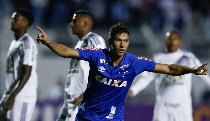 Henrique gol Ponte x Cruzeiro (Foto: Agência Estado)