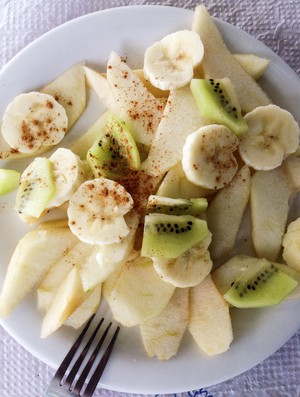 frutas banana maça e kiwi (Foto: Getty Images)