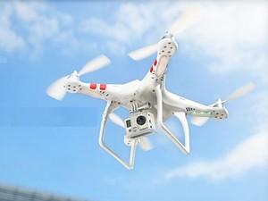 Drone será usado em projeto de pesquisa na Esalq em Piracicaba (Foto: Divulgação/Esalq)