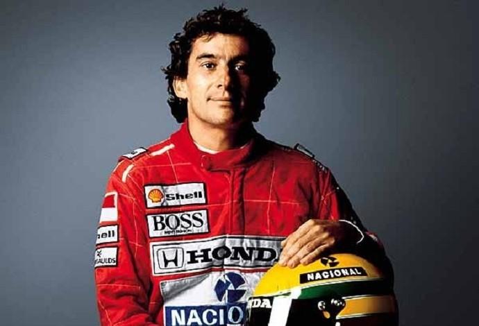 Ayrton Senna, tricampeão mundial de Fórmula 1 (Foto: Divulgação)