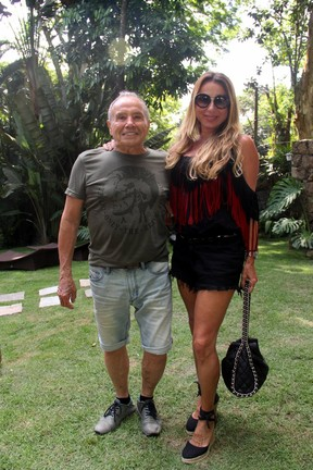 Stênio Garcia e Marilene Saade (Foto: Wallace Barbosa/AgNews)