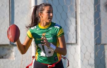 Bola Oval: Cuiabá recebe etapa do Circuito Nacional de Flag Football
