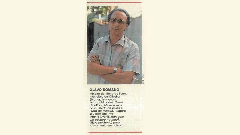 olavo-romano (Foto: Editora Globo)