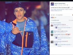 Marlon foi morto a tiros no aeroporto de Porto Alegre (Foto: Reprodução/Facebook)
