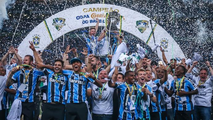 Resultado de imagem para gremio campeão copa do brasil 2016
