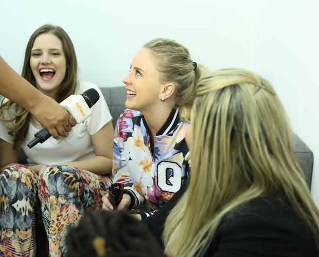 Momento de diversão entre Nathalie Alvim, Priscila Brenner e Kall Medrado (Foto: Isabella Pinheiro/Gshow)