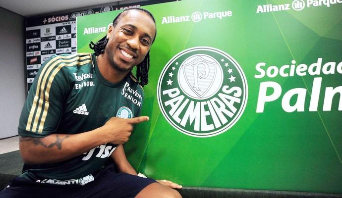 Arouca Apresentação Palmeiras (Foto: Marcos Ribolli)