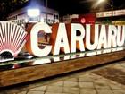Painel turístico com sanfona é atrativo do São João 2016 de Caruaru, PE