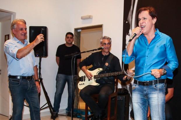 Otávio Mesquita e Tom Cavalcante (Foto: Manuela Scarpa / Brazil News)