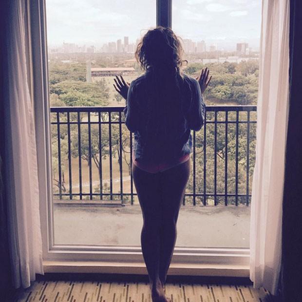 Dinah Jane, do Fifth Harmony, em Manila, nas Filipinas (Foto: Instagram/ Reprodução)