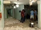Assaltantes fazem vigilante refém e explodem caixa eletrônico em Angra