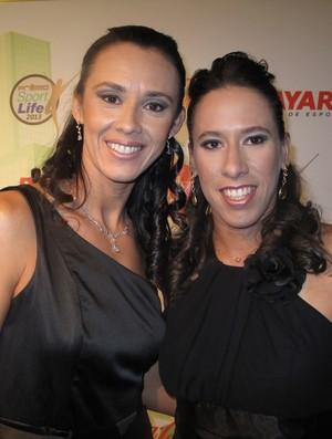 Campeãs do Circuito Mundial, Talita e Taiana foram escolhidas como melhor dupla (Foto: Alessandra Colturato)