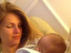 Ana Hickmann volta ao trabalho após ser mãe: 'Já me sinto culpada'