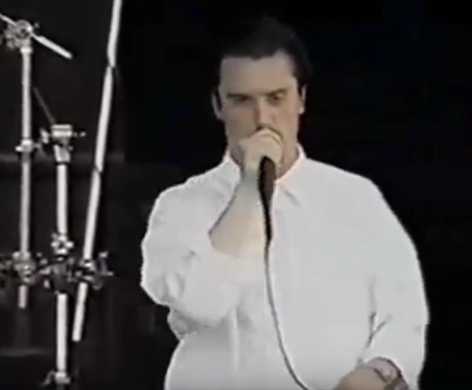 Faith no More tocou no Rock in Rio em 1991 (Foto: Reprodução)