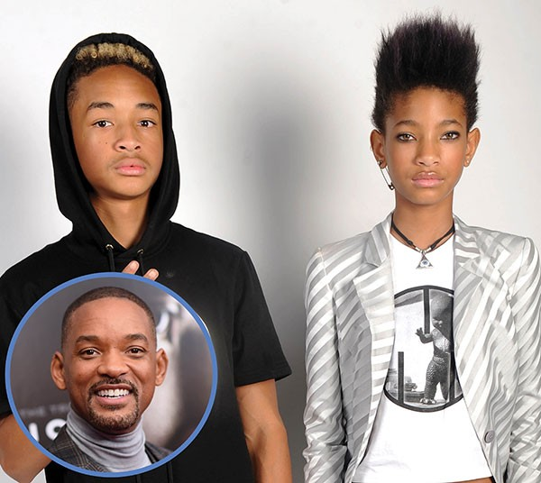 Jaden, Willow e Will Smith (Foto: Getty Images)