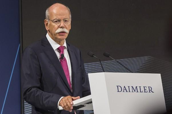 Dieter Zetsche, CEO da Daimler e chefe da divisão de carros da Mercedes (Foto: Divulgação)