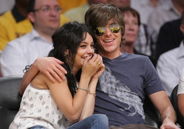 Zac Efron e Vanessa Hudgens (Foto: Getty Images)