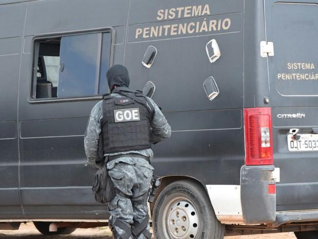Falta de agentes penitenciários resulta em atrasos de audiências. (Foto: Fred Carvalho/G1)