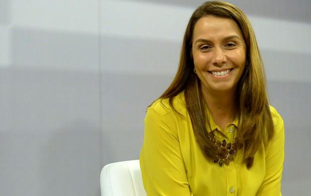 patricia amorim flamengo  (Foto: Vicente Seda / Globoesporte.com)