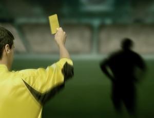 chamada carrossel cartão amarelo (Foto: arte esporte)