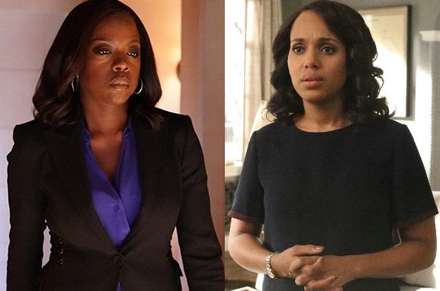 Viola Davis e Kerry Washington, as protagonistas de 'Scandal' e 'How to get away with murder' (Foto: Reprodução)