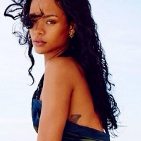 Rihanna posta foto no Brasil (Foto: Instagram/Reprodução)